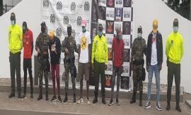 Operación contra 'los mexicanos' capturamos de 07 presuntos sus integrantes