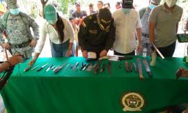 Con plan desarme fortalece la convivencia y seguridad ciudadana Sucre.