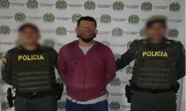 Por fabricación, tráfico o porte de armas de fuego y homicidio, fue capturado un ciudadano