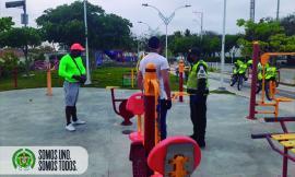Prevención y acción en los parques1