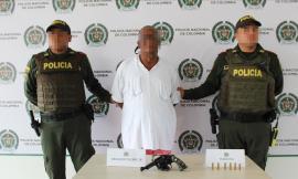 Reacción policial y apoyo de la comunidad permite la captura en flagrancia de un ciudadano