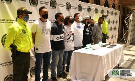 Capturados 7 integrantes del grupo delincuencial común organizado 'la agonía'