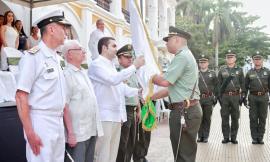 nuevo comandante del Departamento de Policía Bolívar