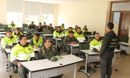 Clases Escuela de Policía Rafael Reyes