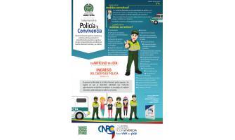 El artículo del día: Ingreso del cuerpo de policía