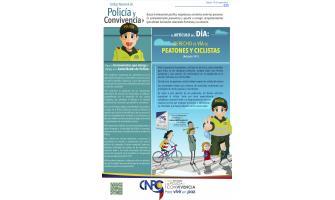 El artículo del día: Derecho de vía de peatones y ciclistas
