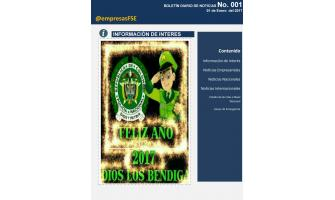 Boletines Diarios de Novedades