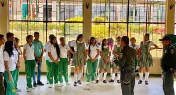 La Unidad Policial para la Edificación de la Paz comprometida con la reconstrucción del tejido social