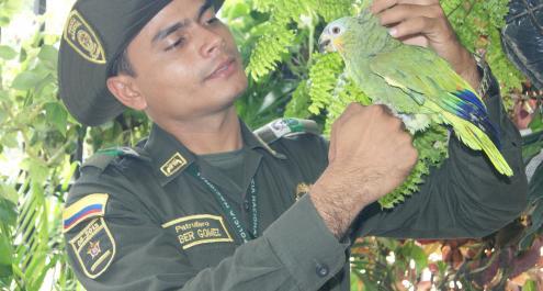 Misión-Protección Ambiental y Ecológica de la Policía Nacional