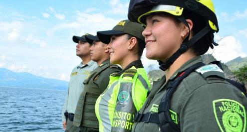 Uniformes Policía Nacional