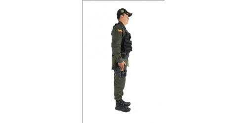 Uniforme de las Unidades Antiexplosivos Antiterrorista de la Policía Nacional
