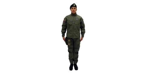 Uniforme de los Comandos Jungla de la Policía Nacional - No.1