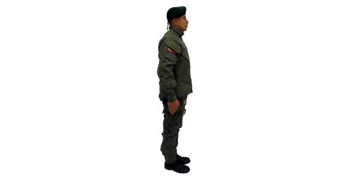 Uniforme de los Comandos Jungla de la Policía Nacional - No.1-Lateral Derecho