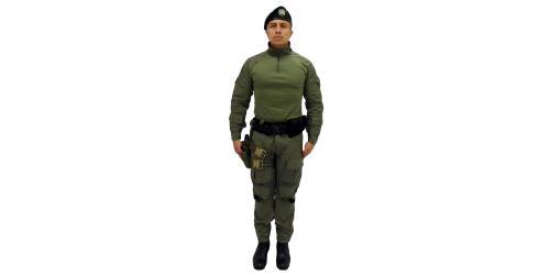 Uniforme de los Comandos Jungla - No.2