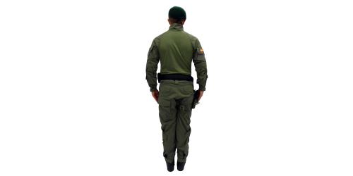 Uniforme de los Comandos Jungla - No.2- Espalda