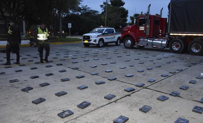 Incautamos de 143 kilos de cocaína en Barrancabermeja