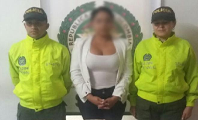 "Capturada representante de corporación social por nexos con ""la oficina"""