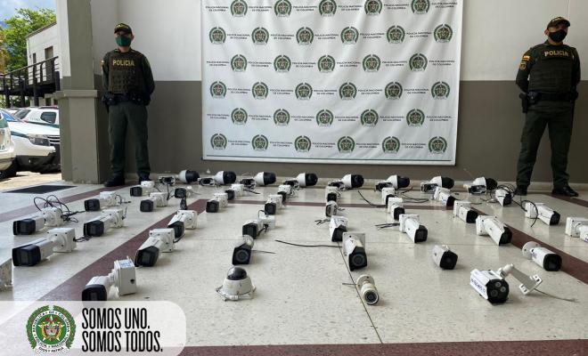 Desmantelada red de cámaras de videovigilancia de los grupos delincuenciales 'el mesa' y 'pachelly' en Bello