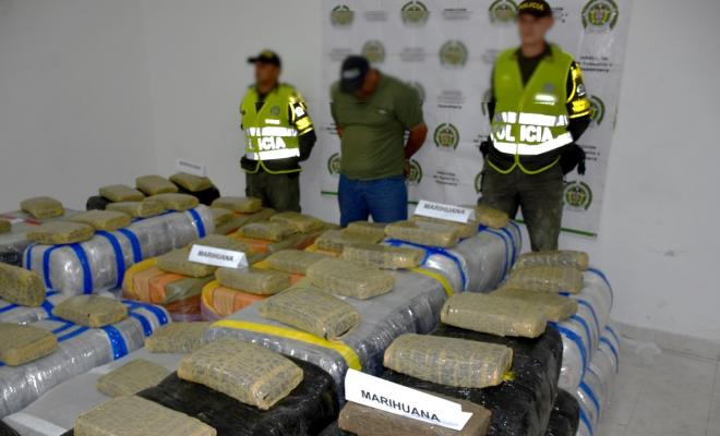 la marihuana tenía como destino la ciudad de Medellín