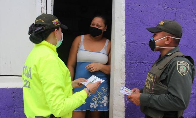 Trasladamos el Comando Situacional al Sector de las Palmas en el Departamento Archipiélago