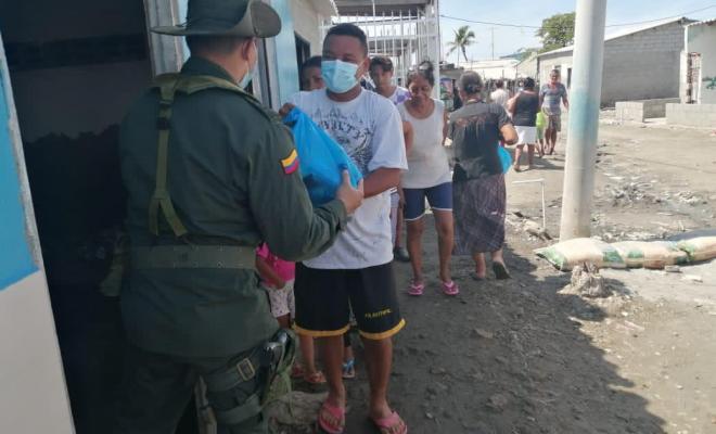 Entregamos ayudas a comunidad damnificada en San José del Guaviare, Magdalena y Santa Marta
