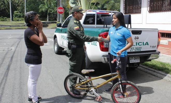 Recuperada-bicicleta-de-deportista-en-Cali