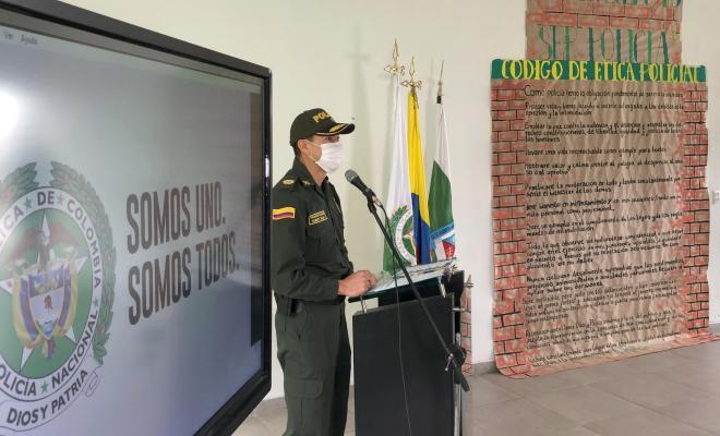 Teniente Coronel Herberth Noé Mejía Castro, Director Escuela de Carabineros Alejandro Gutiérrez