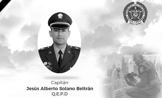 capitán Jesús Alberto Solano Beltrán