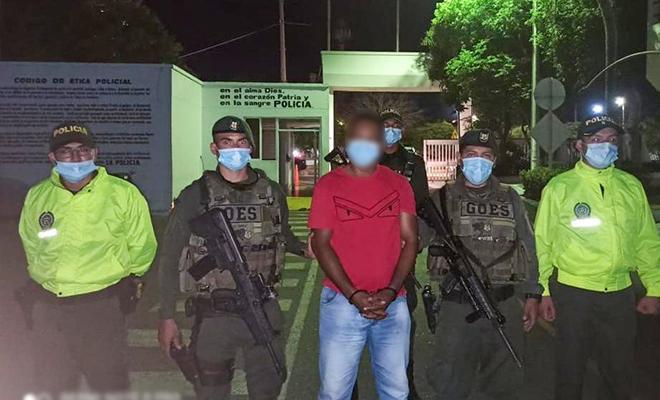 Cayó 'Ángel' cabecilla pseudopolítico del Clan del Golfo en la región caribe