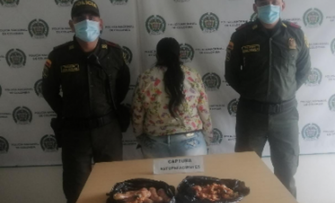 Capturada mujer que pretendía ingresar estupefacientes a sala de retenidos en Manizales