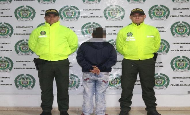 El capturado fue cobijado con medida de aseguramiento domiciliaria