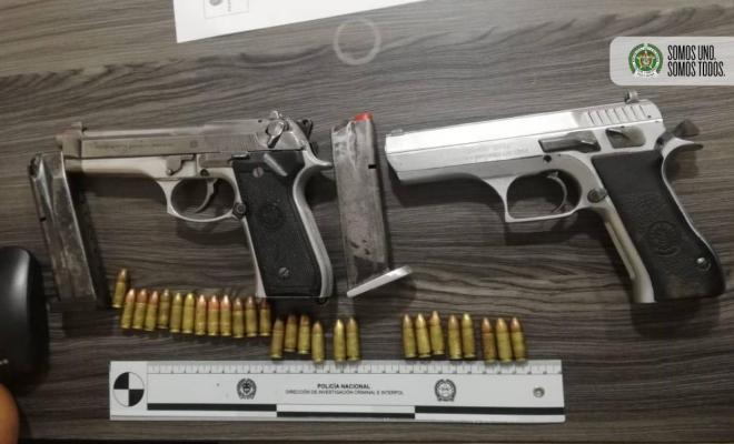 Capturados en flagrancia 8 integrantes de la Costru en el bajo Putumayo con dos armas de fuego y 12 kilos de marihuana.