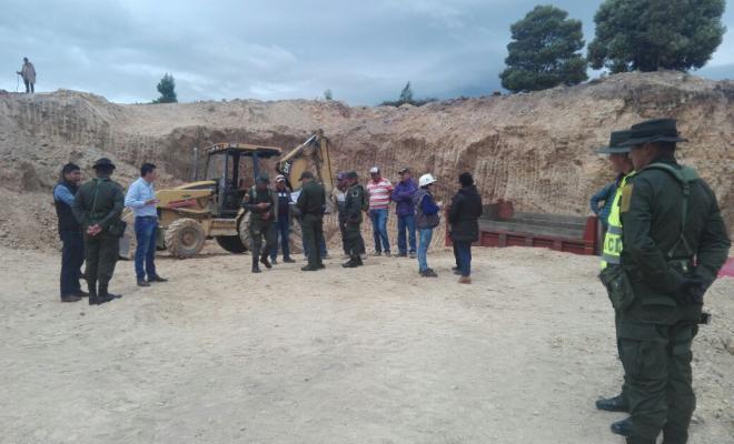 Capturados por minería ilegal en Boyacá