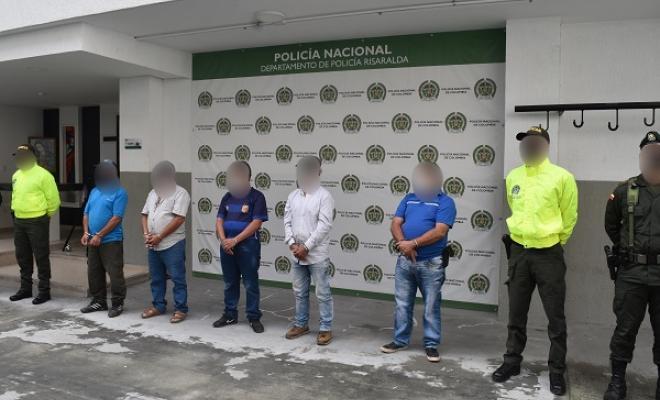 captura de cinco personas por los delitos de contaminación ambiental