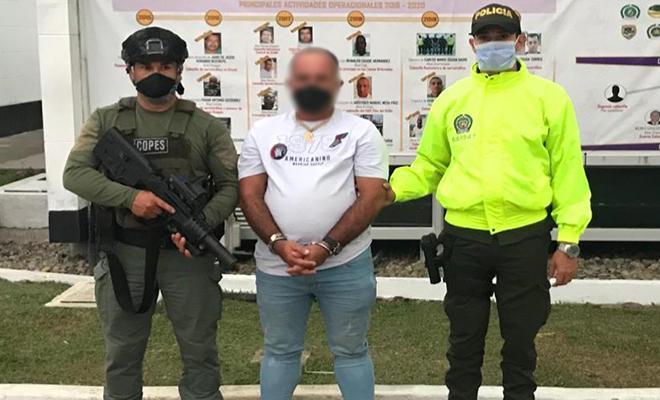 """Cayó 'Toronja' cabecilla de la subestructura central urabá del """"Clan del Golfo"""""""