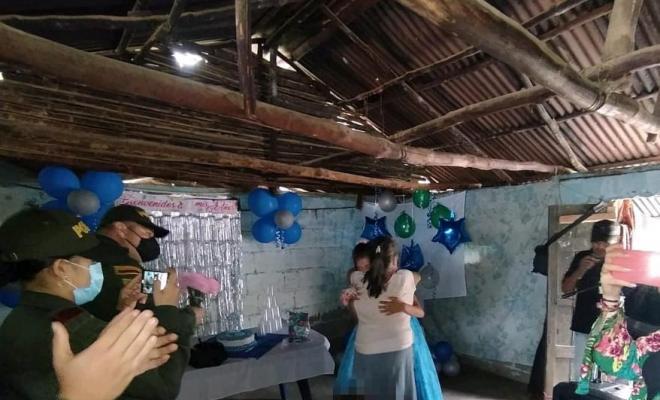 Le cumplimos el sueño a una joven y le celebramos su fiesta de 15 años