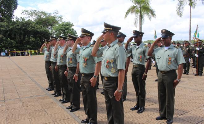 La polic a del departamento del choco celebr aniversario 126 de nuestra instituci n policial - Oficina del policia ...