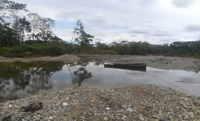 01 mina intervenida en el municipio de Cértegui Chocó
