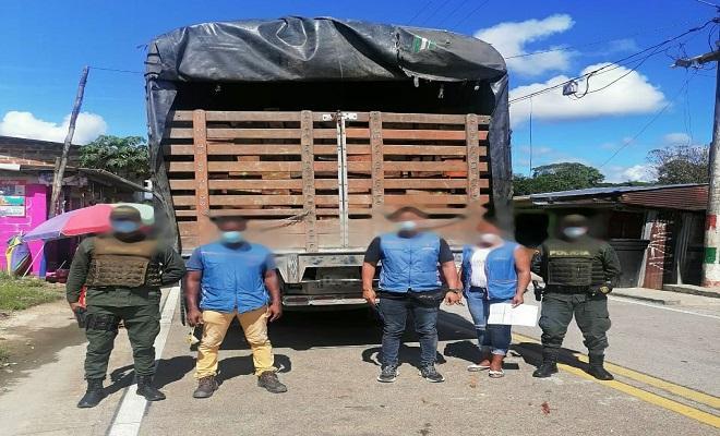 Continuamos operativos contra el tráfico ilegal de madera