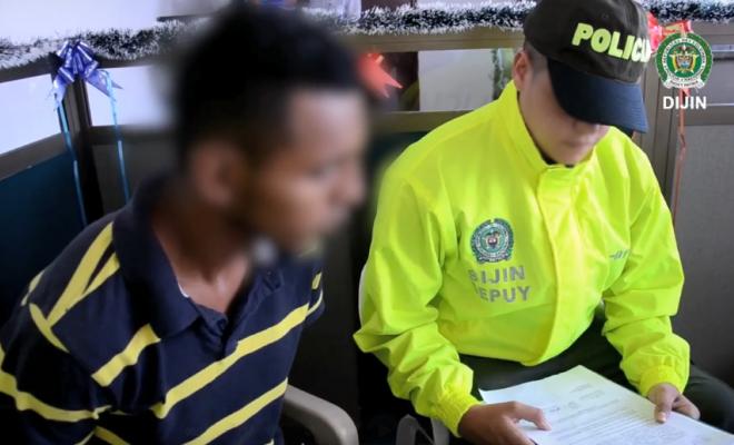 En Putumayo fue capturado presunto homicida de policía ecuatoriano