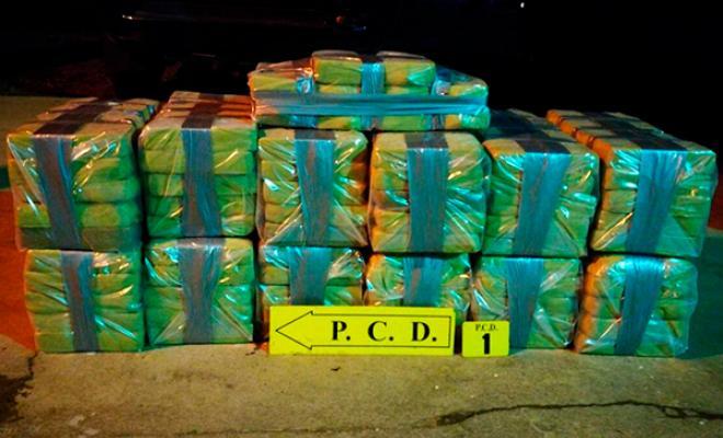En operaciones contra el narcotráfico caen más de cinco toneladas de cocaína