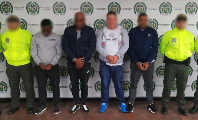 Capturamos cinco extraditables que tienen nexos con el 'Clan
