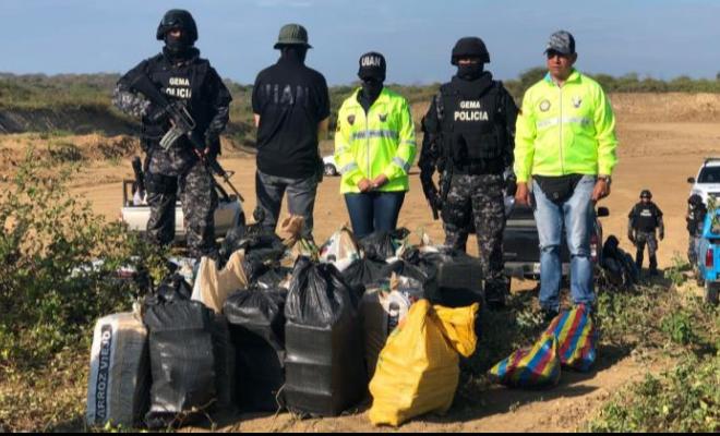 Incautamos 1.9 toneladas de cocaína gracias al intercambio de información