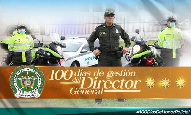 100 dias de gestión del director de la Policía Nacional