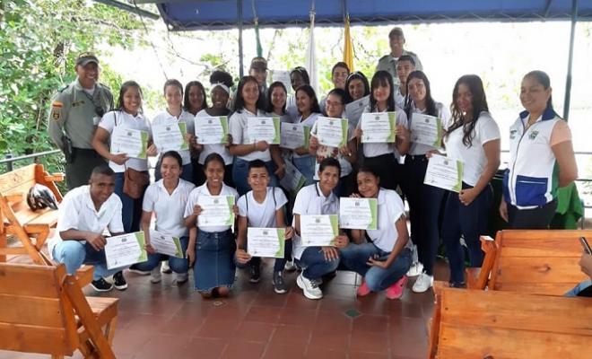 En Guaviare graduamos a 30 niños como Guardianes del Turismo