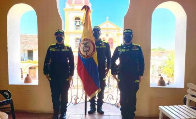 En Mompox comienza la renovación de la Policía Nacional.