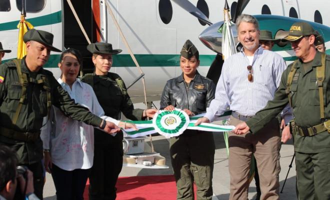 Gobierno de EEUU ha donado 2 Aviones a la Policía Nacional de Colombia