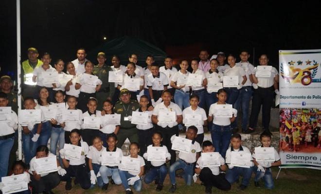 Graduamos líderes comunitarios como promotores de seguridad y convivencia en el Guaviare