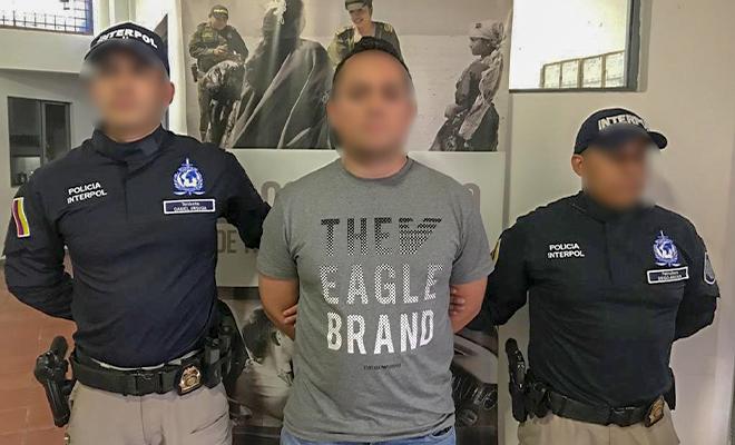 Localizados y capturados 15 fugitivos colombianos y extranjeros que tenían notificación roja de interpol