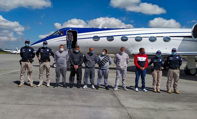 Extraditados a estados unidos 6 ciudadanos colombianos requeridos por tráfico de drogas y otros delitos